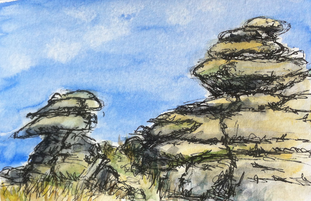 Cheesewring Rocks