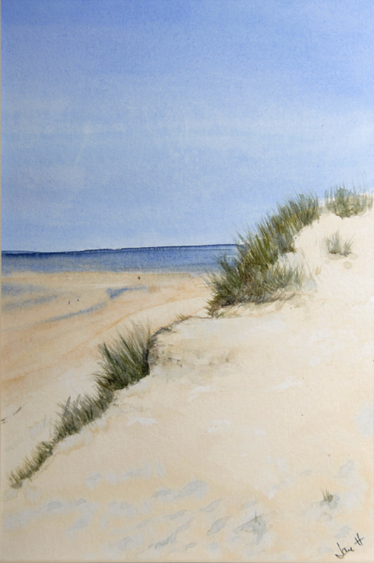 The dunes at Hayle beach