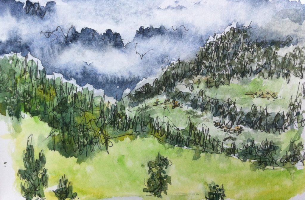 Gerlostal valley