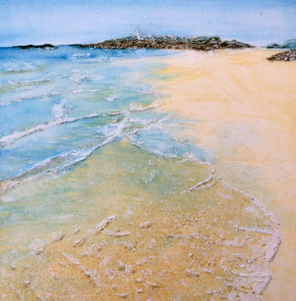 Godrevy with Gesso