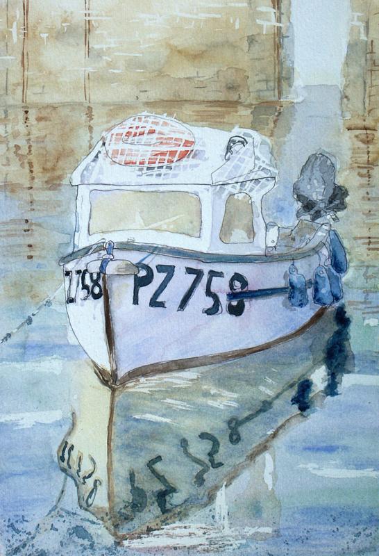 Mousehole boat