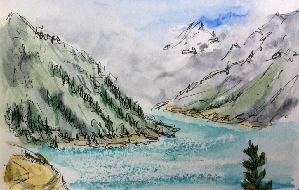Schlegeis reservoir