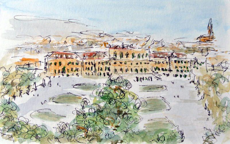 Schonbrunn Palace from Gloriette