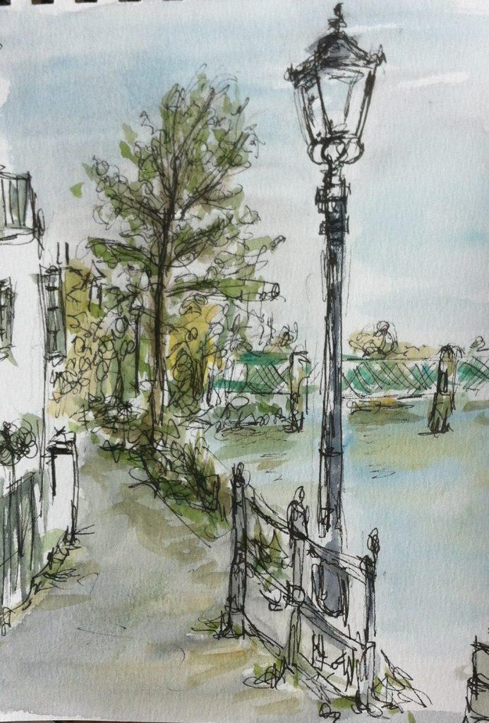 Thames footpath