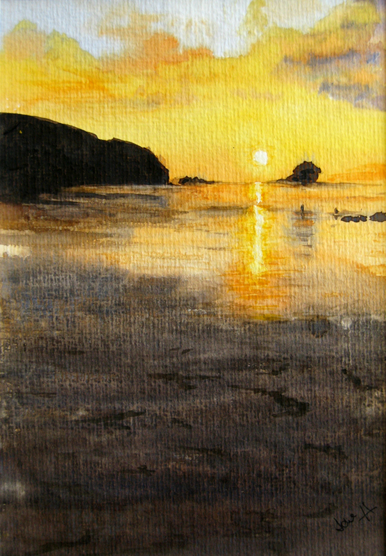 Portreath sunset