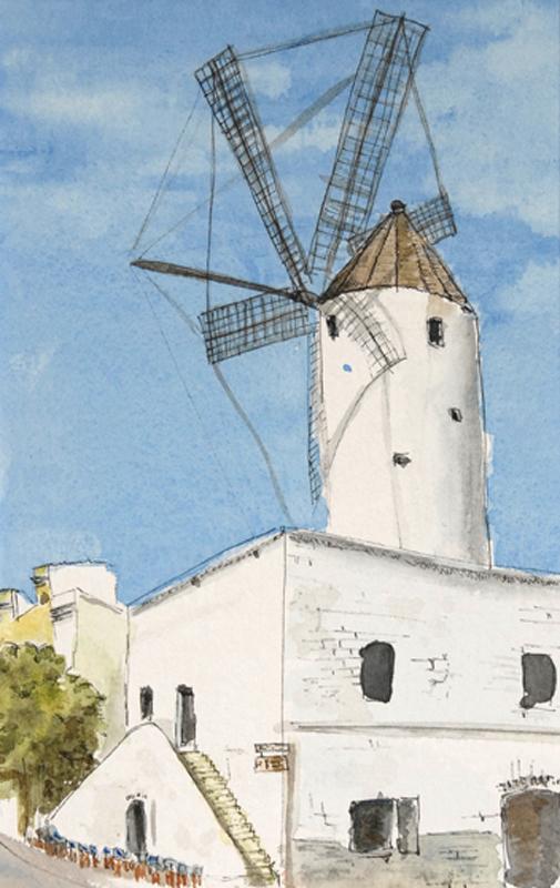 Windmill : Ciutadella